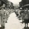 夏祭りの仮装行列(昭和35・36年)